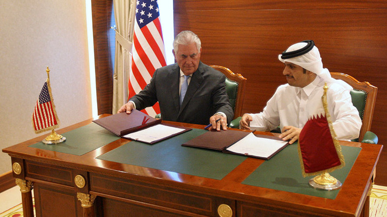 US & Qatar sign agreement to step up Doha's counterterrorism efforts