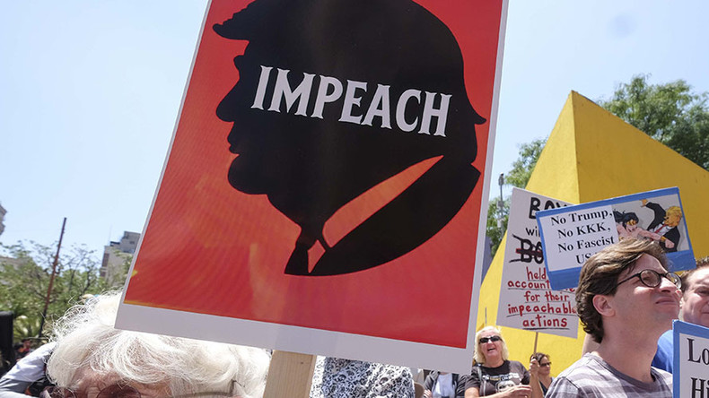 'For high crimes and misdemeanors': Dem Congressman submits resolution to impeach Trump
