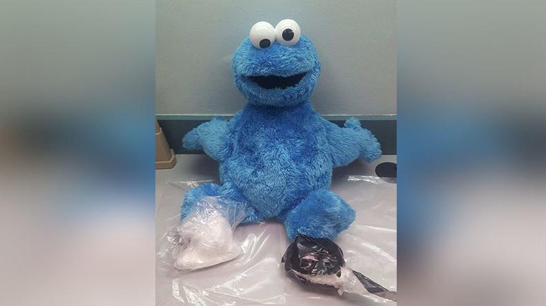 Cocaine monster: Drugs stash found in Sesame Street doll (PHOTO)
