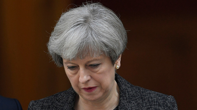 Theresa May says she 'shed a tear' after election night disaster