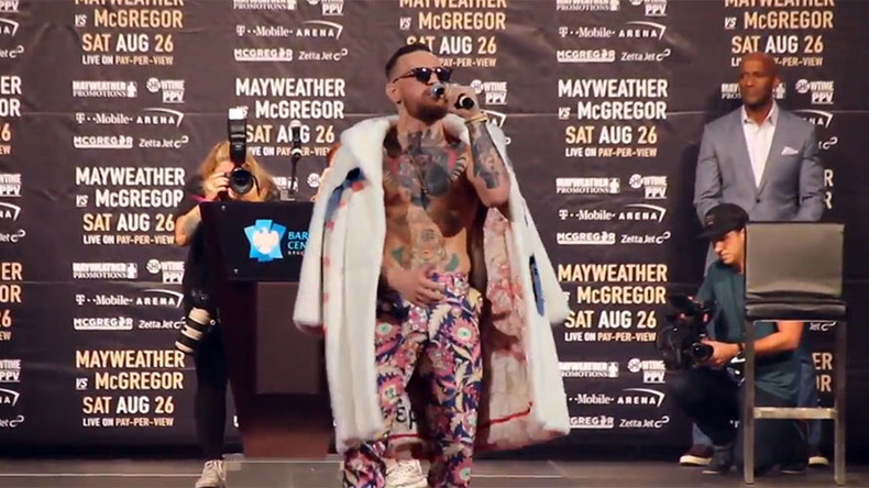 'I'm half black… from the bellybutton down': McGregor's comments branded racist (VIDEO)