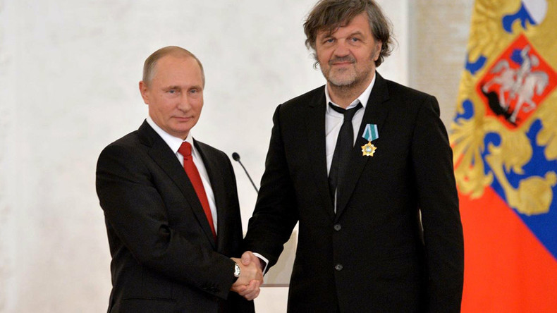 'Putin's gentle nature bringing Russia back from its knees' – filmmaker Kusturica