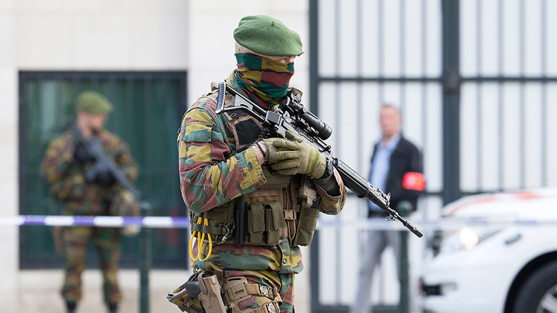 Axe-wielding man detained in Belgium says he was heading to photoshoot