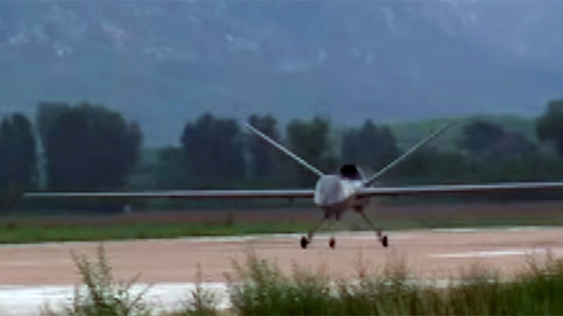 New Chinese military drone completes trial flight (VIDEOS)