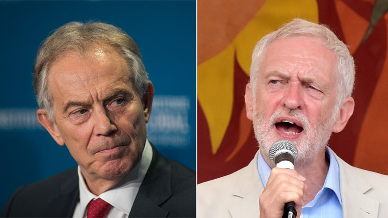 Tony Blair admits Jeremy Corbyn could be Britain's next PM