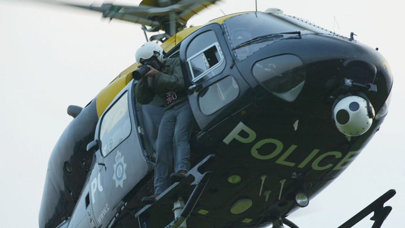Police helicopter filmed couple 'brazenly' having sex on patio, court hears