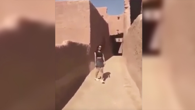 Chasing miniskirts: Saudi police arrest woman who wore 'indecent clothing' in viral video