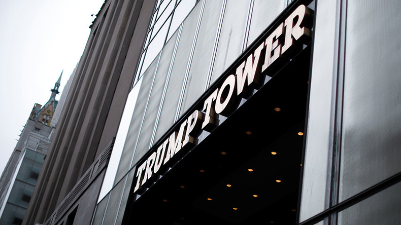 US military spends $130K a month to rent space in Trump Tower
