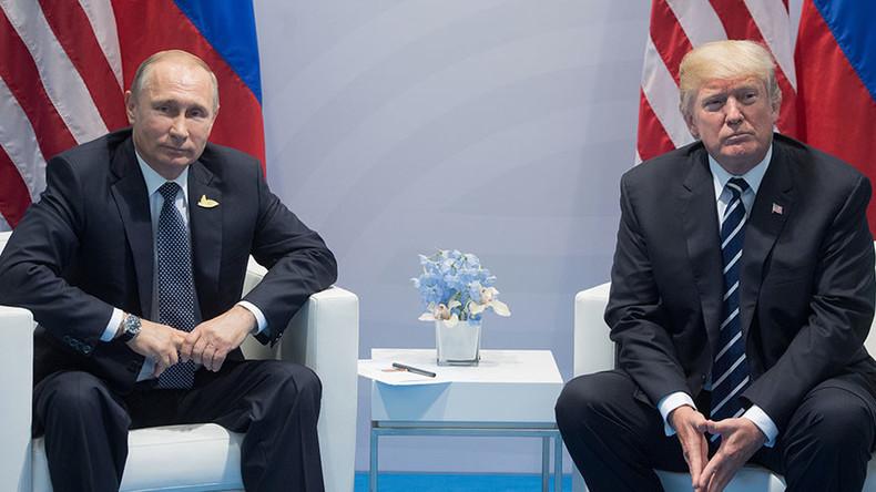 'Absurd:' Kremlin slams reports on Putin's 'secret' meeting with Trump
