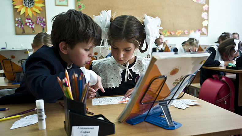 Lessons on Crimea reunification with Russia being added to school curriculum – report