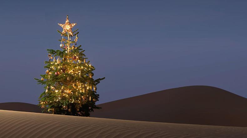 RAF smuggled Christmas trees into Saudi Arabia despite religious ban