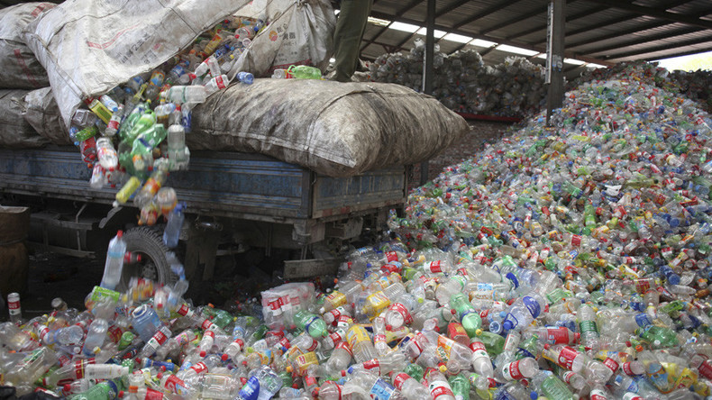 1 ton of plastic produced for every person on planet, scientists reveal