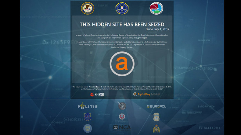 Dark web markets AlphaBay & Hansa shut down in massive global operation