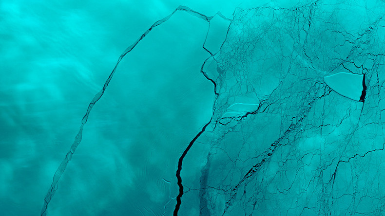 New crack found in Antarctica ice shelf after 1 trillion ton iceberg breaks free