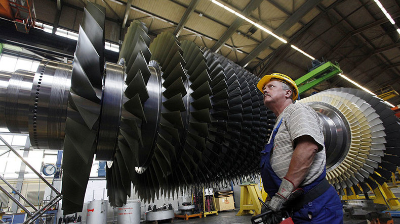 Siemens to suspend contracts with state-owned Russian companies over turbine deliveries to Crimea