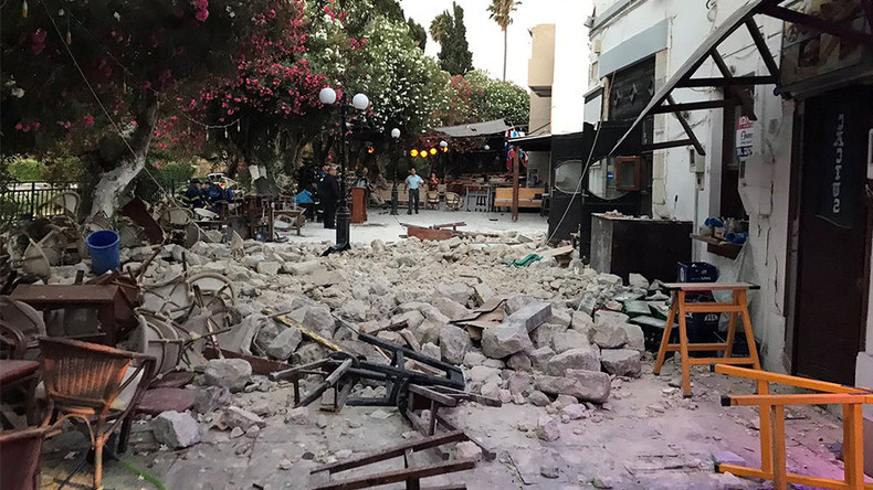 'I'm scared & shocked': Eyewitness of Aegean earthquake reveals dramatic aftermath (PHOTOS, VIDEOS)