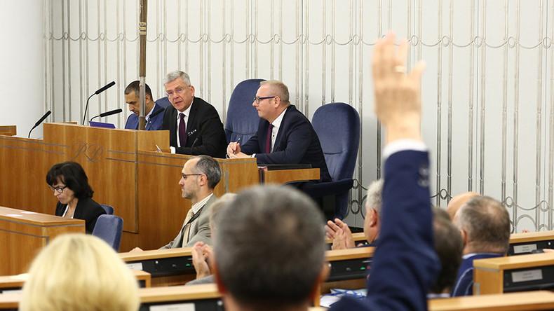 Polish Senate approves controversial Supreme Court reform bill