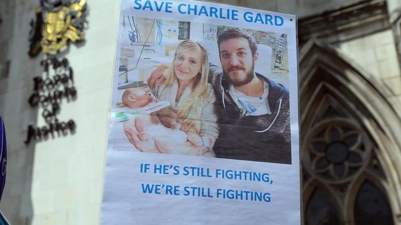 Charlie Gard: Police probe death threats against London hospital staff