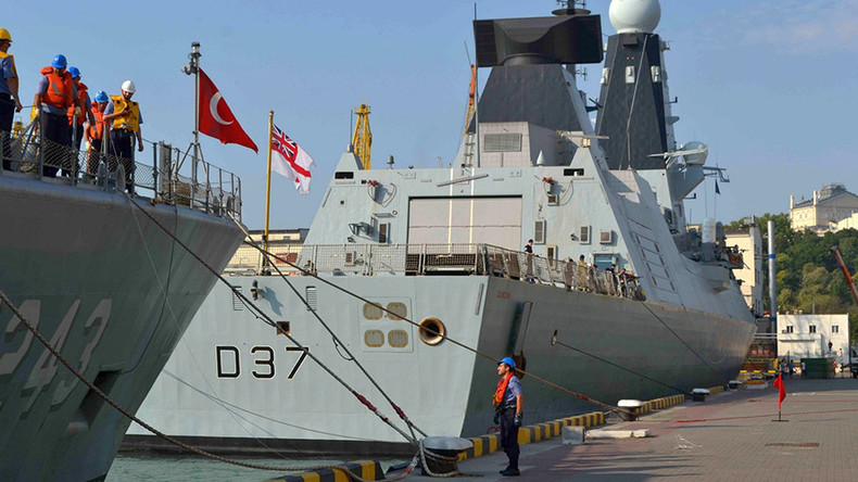 British, Turkish warships arrive in Ukraine for NATO Black Sea drills (PHOTOS)