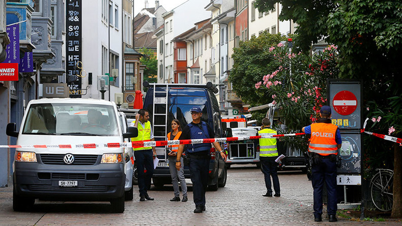 Chainsaw-wielding attacker injures 5 people in Switzerland, remains on the run (PHOTOS)