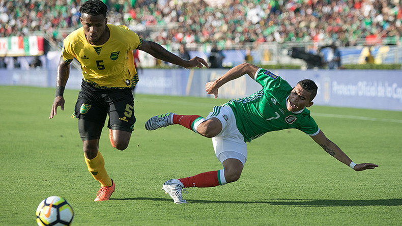 Jamaica shock Mexico to set up Gold Cup final against USA