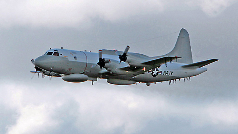 Armed Chinese jets drive off US spy plane over Yellow Sea
