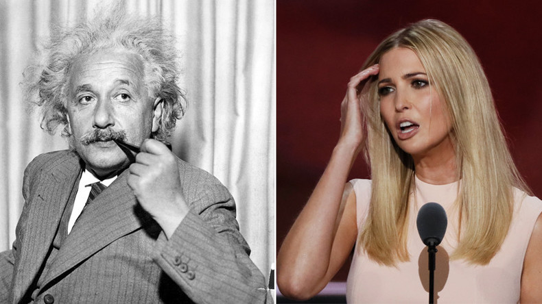 Alternative facts: Ivanka Trump called out by Einstein estate for misquote