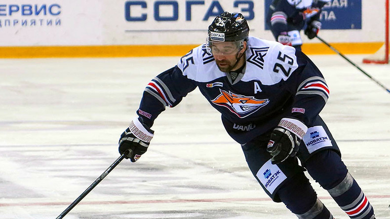 Russian 3-time ice hockey world champion Zaripov banned for 2 years over doping