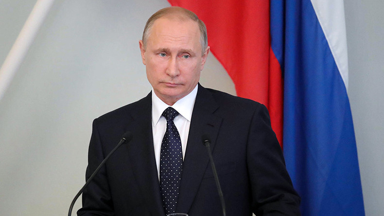 Putin: New US sanctions are cynical, destroy international law