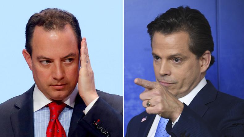 'F**king paranoid schizophrenic': Scaramucci blasts Priebus & Bannon in rant