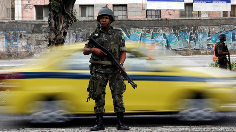 Rio de Janeiro deploys 10,000 troops to tackle crime surge