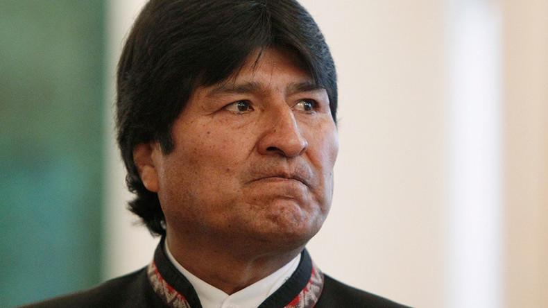 Bolivian president calls US 'threat to international law, UN' over 'unilateral' Russia sanctions