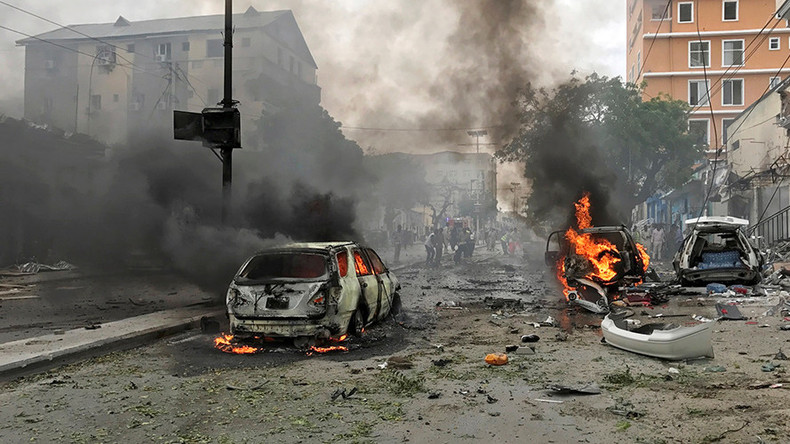 'Huge' car bomb explosion kills at least six in Mogadishu (PHOTOS, VIDEO)