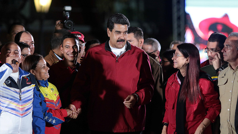 US Treasury sanctions Venezuelan president Maduro