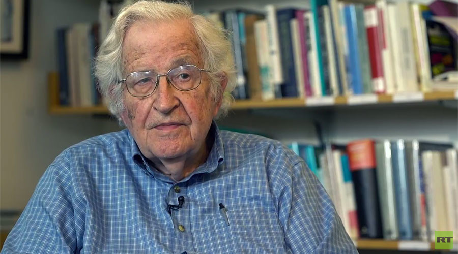 Chomsky to RT: 'US is racing toward the precipice, while the world is trying to save itself'