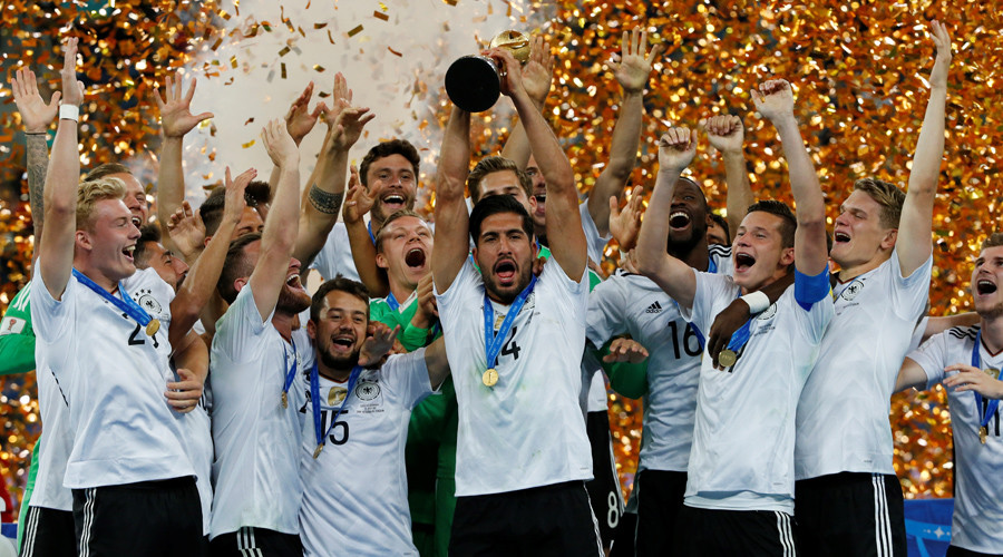 Germany win Confed Cup with 1-0 victory over Chile in St. Petersburg