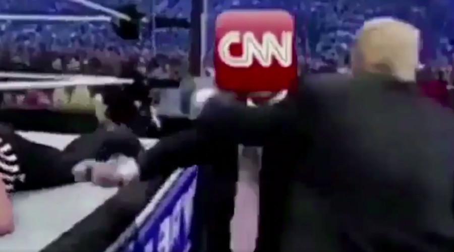 Twitter baffled after Trump CNN smackdown tweet