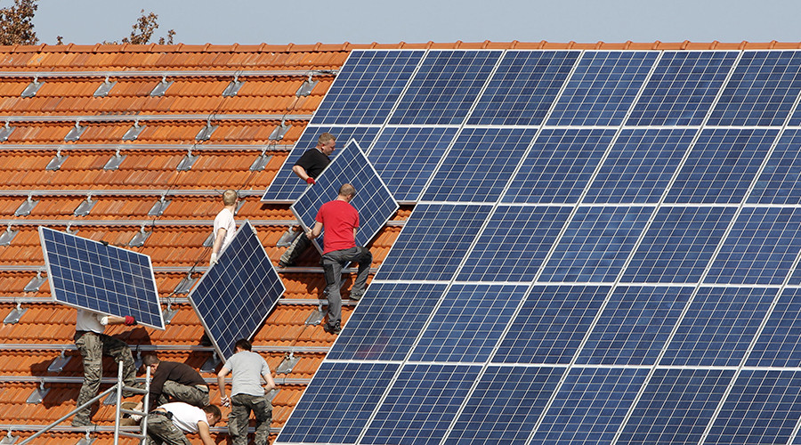 Germany breaks green energy record with 35% of power from renewable sources