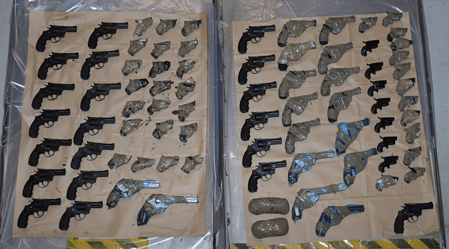 79 'viable' firearms bound for UK recovered from Channel Tunnel