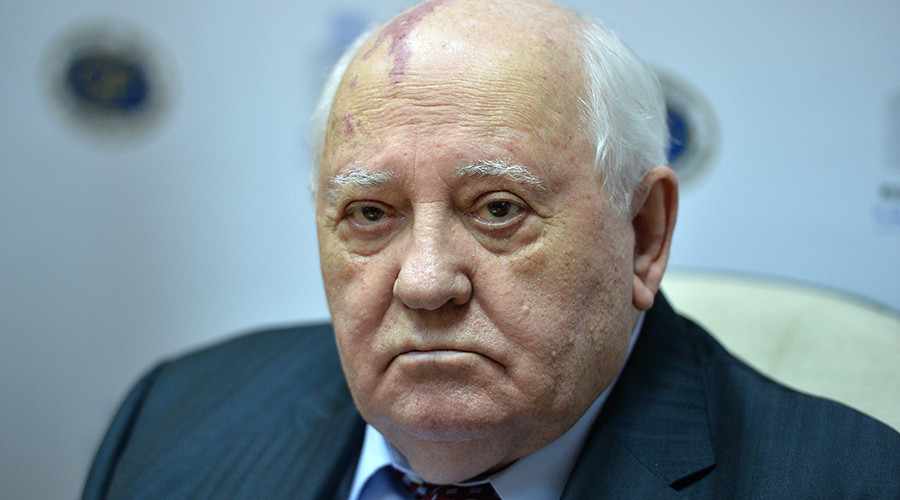 Gorbachev blames current Russia-US spat on Washington's selfishness