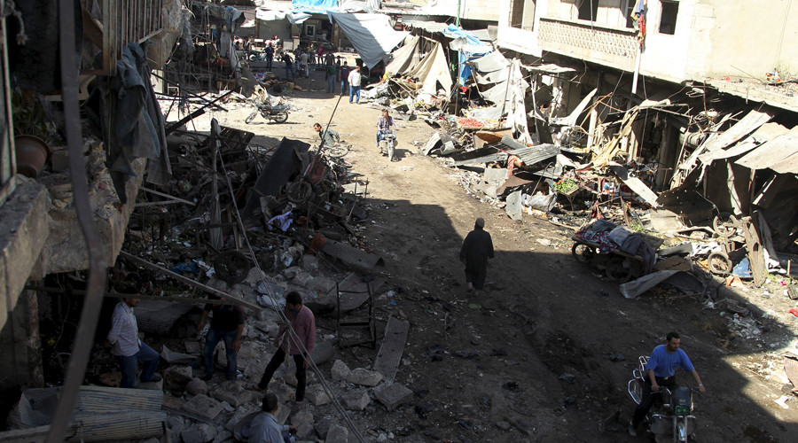 Who is using chlorine as a chemical weapon in Syria?