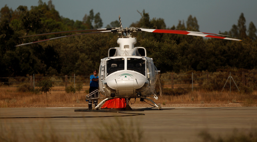 Masked gunman shot dead after failed helicopter heist in Oregon