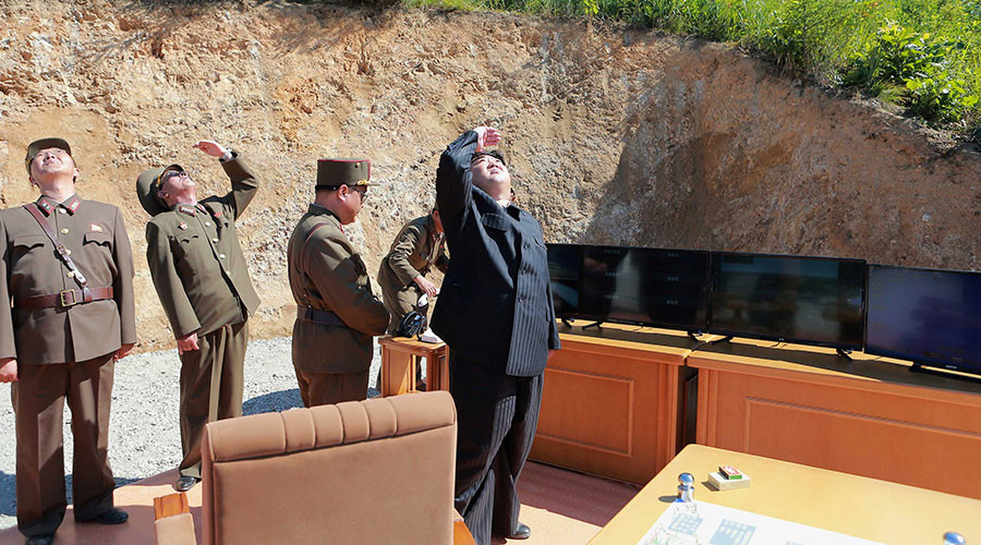 North Korea warns of nuclear war after US bombers carry out 'provocative' live-fire drills