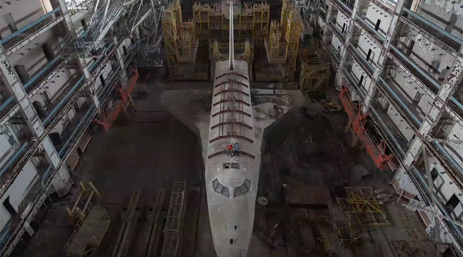 YouTubers break into Kazakh cosmodrome, film Soviet space shuttles (PHOTOS, VIDEOS)