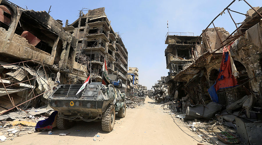 Iraqi PM congratulates military on 'victory' over ISIS in Mosul