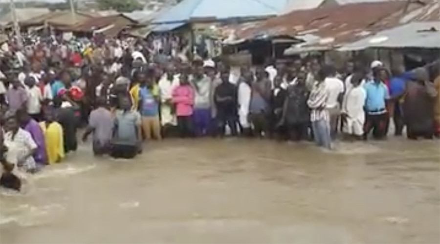 Deadly floods leave at least 13 dead, hundreds homeless in Nigeria (PHOTOS, VIDEOS)
