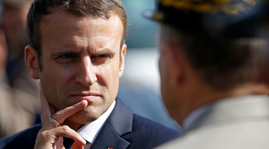 Macron says Africa's main problem is '7-8 children per woman,' social media erupts