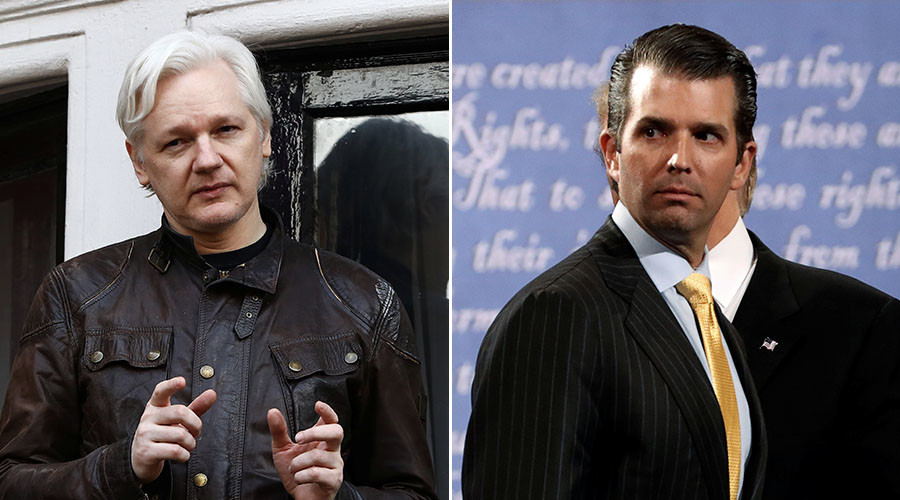 Assange: I urged Trump Jr to release emails on Russian lawyer before NYT story