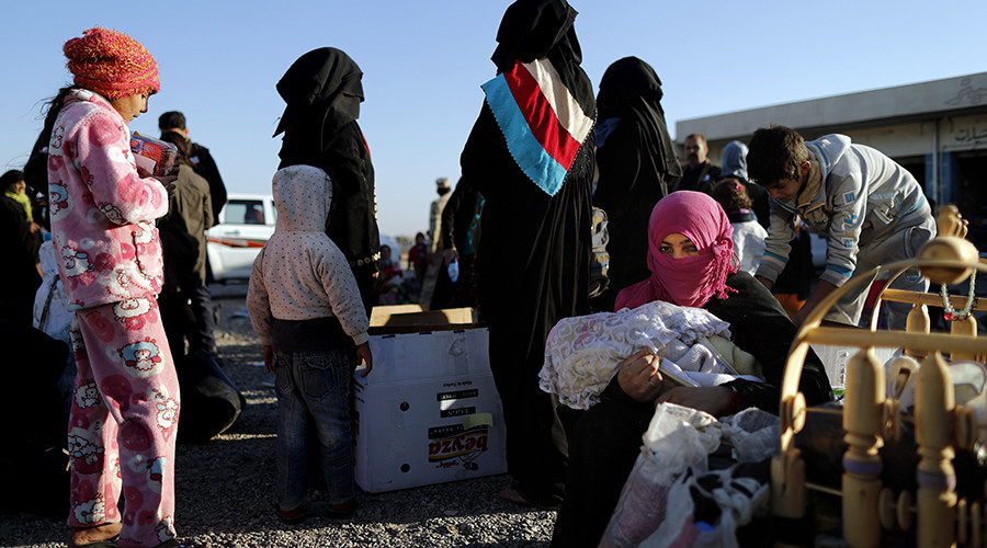 'Collective punishment & war crimes': HRW condemns forced relocation of ISIS families in Iraq