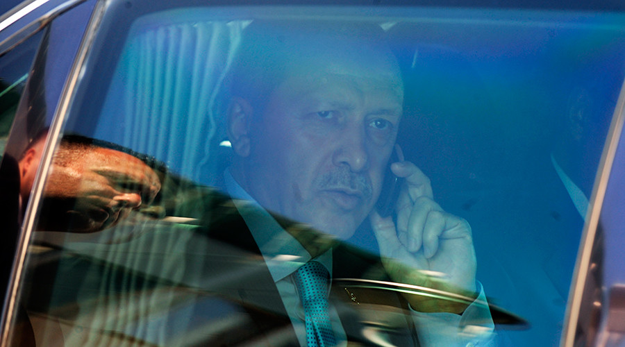 Message from the president: Erdogan's voice heard before dial tone on anniversary of failed coup
